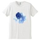 「ゆらぎ」Tシャツ / 001 (white)