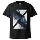 「思案の海に」Tシャツ / black