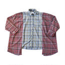 AMOUR ORIGINALS SWITCHED CHECK SHIRT / LIGHT BLUE
