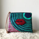 african fabric porch (lips)