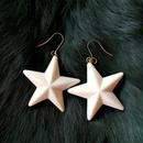 vintage lucite star pierce (large)