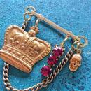 vintage charm brooch (no.3)