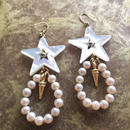japan glass beads pierce(pearl)