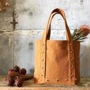 canvas tote bag medium (camel)