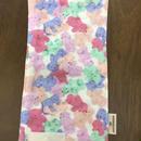 くまさんpurple kids handkerchief