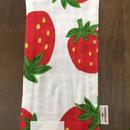 イチゴ柄 kids handkerchief