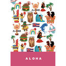 Postcard ALOHA ALL