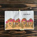 """手作りBOOKCOVER """"OHANA"""""""