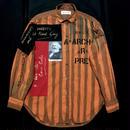 Newアナーキーシャツ メンズL  オレンジ