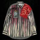 アナーキーシャツ メンズXL  ジョニーグレイ
