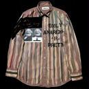 アナーキーシャツ メンズL  ライトブラウン