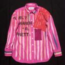 アナーキーシャツ レディースM Pink