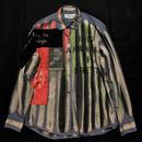 アナーキーシャツ メンズL サイモンtype USED