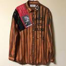 アナーキーシャツ メンズXL  ブラウン