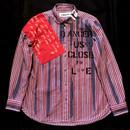 アナーキーシャツ レディースM-L ピンク