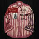 アナーキーシャツ メンズL  Manthonie ver.2