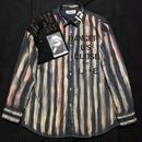 アナーキーシャツ メンズXL  ダークグレイ2