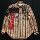 Newアナーキーシャツ メンズL  レッドブラウン