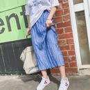 pleats straight skirts/プリーツ ストレート スカート