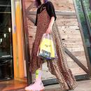 leopard asymmetry dress/レオパード アシンメトリー ドレス