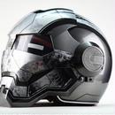 【送料無料!】フルフェイス アイアンマンタイプ ウォーマシン メット ヘルメット デザイン アメコミ ユニーク 2色あり