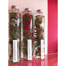 Herbarium(ハーバリウム)花の標本(ミックス・ロングボトル)(BOX付)  クリスマス限定 2本セット・11/20~お届け