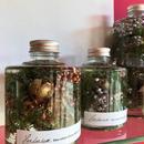 Herbarium(ハーバリウム)花の標本(ミックス・スタッキングボトル)(BOX付)  クリスマス限定 2個セット