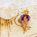 マリアの王冠ネックレス・2月誕生石