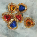 vintage bijou heart