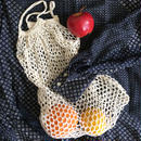 Vintage French net shopping bag