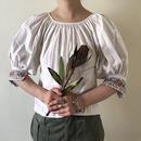 early - Mid 20th c. linen folk blouse