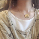 SCENERY necklace (gold/pink gold)