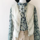 used suede vest