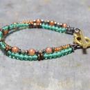 """アルクス カラースタックブレス<ツリー>""""ARCUS color stack bracelet(TREE)"""""""
