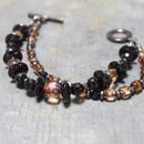 """アルクス & オニキス レイヤーブレス""""ARCUS & ONYX layer bracelet"""""""