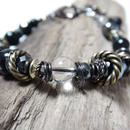 オニキス  ツイステッドリング ブレス ''ONYX twistedring bracelet''