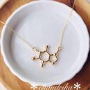 分子構造型ネックレス*カフェイン