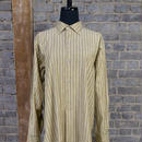 50s60s FRENCH STRIPE PATTERN WORK SHIRT -DEAD STOCK-