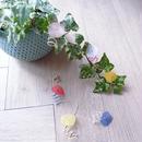 hiroko watanabe | お花イヤリング