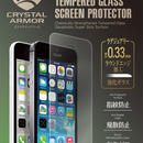 【iPhone SE】クリスタルアーマー®  ラウンドエッジ強化ガラス 液晶保護 for iPhone SE / 5s / 5c / 5【IPSE-CAR004】