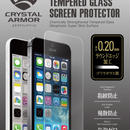 【iPhone SE】クリスタルアーマー®  ゴリラガラス製ラウンドエッジ強化ガラス 液晶保護 for iPhone SE / 5s / 5c / 5【IPSE-CATR001】