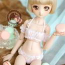MDD,MSD ミニドルフィードリーム洋服 下着 お花 インナーウェア(ピンク)