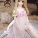 DD DY SD16 ドルフィードリーム服 ルームウェア(ピンク)