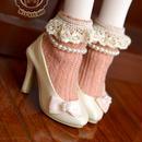 MDD,MSD ドルフィードリーム靴下 フリルソックス(オレンジ)