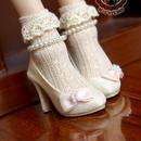 MDD,MSD ドルフィードリーム靴下 フリルソックス(ベージュ)