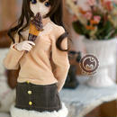 DD,1/3 ドール服 ドルフィードリーム衣装 モコモコミニスカート