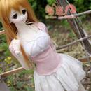 DD/DY/SD/BJD/AZONE/1/3 ドルフィードリーム ピンク お洋服セット