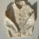 Vintage fisherman knit cardigan