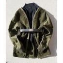 Vintage netherlands boa linner jacket