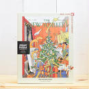 "New York Puzzle Company The New Yorker ""Pre Holiday Rush""1000pc/ザ・ニューヨーカー ジグソーパズル 1000ピース"
